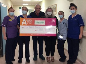 Cullingworth man's close shave to say 'thank you for your care'