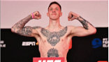 Rhys McKee released by UFC