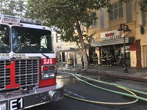 Person found dead at scene of San Jose commercial fire