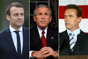 From a tight slap to Macron to flying shoe at George W Bush — When world leaders were at the receiving end
