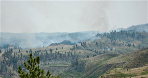 Five firefighters injured by wildfire in Garfield County