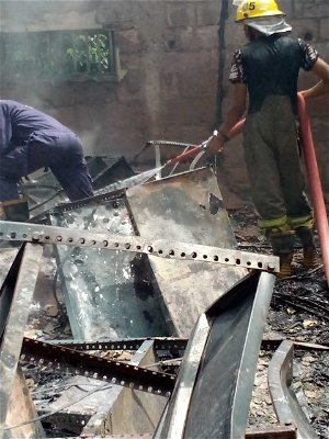 Arsonists attack INEC office in Awgu Enugu, INEC reacts