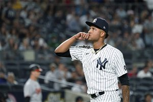 Aaron Boone names rookie Luis Gil starter for Sunday's game against Mariners