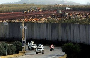 Israeli army says it has seized drugs and weapons that were being smuggled into the country from Lebanon