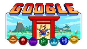 Google Doodle joins Tokyo Olympics hype with anime-inspired game