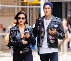 Travis Barker's ex-wife doesn't seem happy about his engagement to Kourtney Kardashian