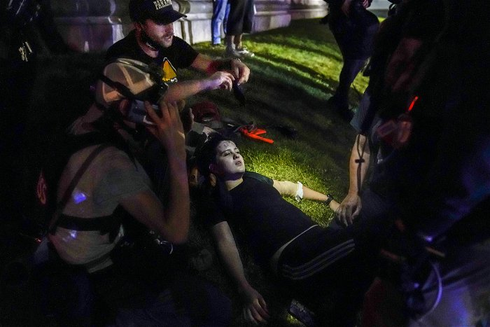 Man injured in Kenosha protests shooting sues city, county and law enforcement officers
