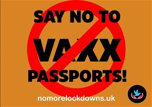 Government set to introduce 'vaxx-passports' and allow companies to discriminate on medical grounds