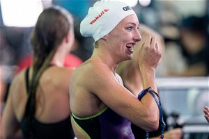 Schoenmaker swims yet another Olympic qualifying time at SA Aquatic Championships