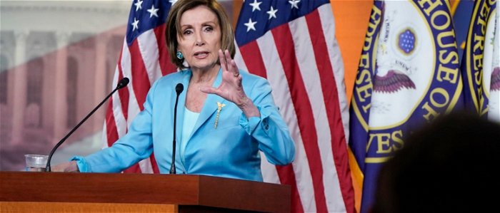Pelosi punts question on unborn babies, says she's a 'big supporter of Roe v. Wade'