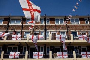 Are England fans allowed to be proud of the St George's Cross?