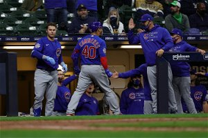 Brewers' bats quiet in testy loss to Cubs
