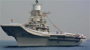 Minor fire onboard aircraft carrier INS Vikramaditya