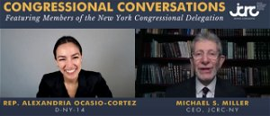 Ocasio-Cortez meets with top NYC Jewish group: Talks Israel-Palestinian conflict