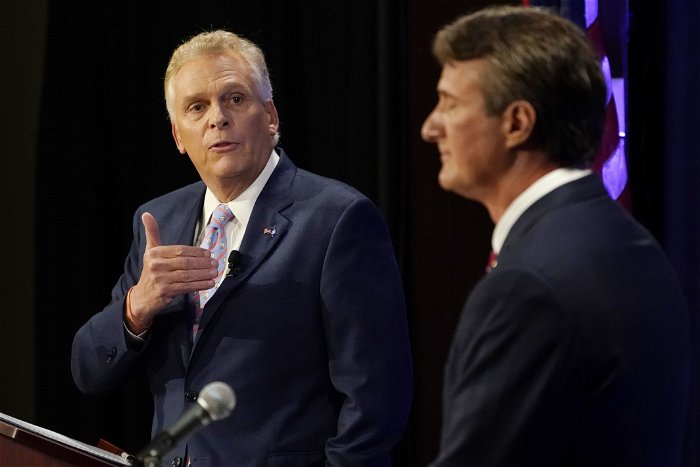 GOP's Youngkin stays away from 'Take Back Virginia' rally