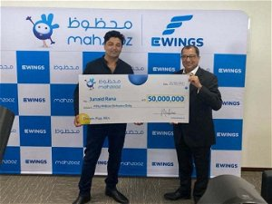 Mahzooz draw: Pakistani driver earning Dh6,000 scoops Dh50 million