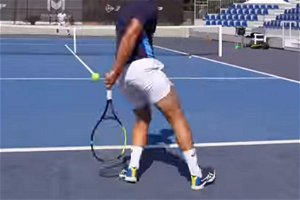 Serena Williams' coach takes pride after pulling off Kyrgios-style shot