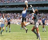 Diego Maradona's legend shaped by his Hand of God