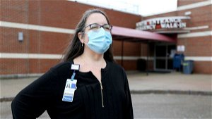 Wentworth-Douglass Hospital overflows as COVID cases surge. Concern for staff rises, too.