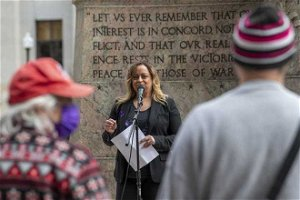 'This is not over today': Group advocates for domestic abuse survivors at Ohio Statehouse