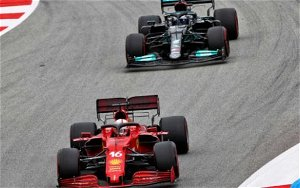 Leclerc looks to Mercedes with Ferrari: 'Then we can reach their level'