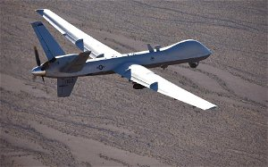 stripes - Fuel leak forced Air Force to down costly drone over Africa, report says