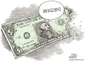 [Opinion] Bitcoin takes bite out of dollar