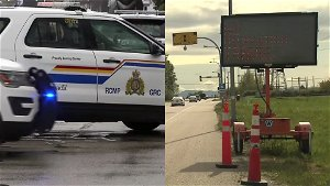 Vehicle of shooting suspect found near Perth Andover, search for suspect still underway