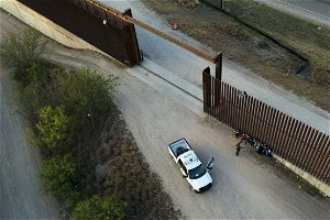 About that southern border wall in Texas... Is it just a campaign issue?
