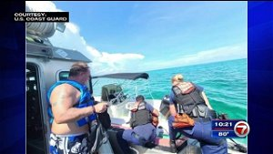 3 rescued off Islamorada after boat begins taking on water