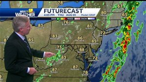 Temperatures return to normal Thursday