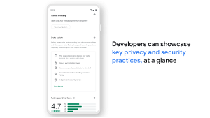 Google Play starts letting developers fill out 'Data safety' info, section launching in February