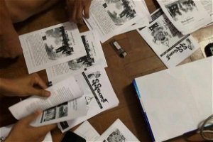 Myanmar youth fight internet outages with underground newsletter