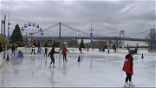 Blue Cross RiverRink Reopens With Safety Precautions In Place For Skaters