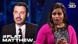Jimmy Kimmel & Mindy Kaling Are Shocked By A Mysterious #FlatMatthew In Teaser For Doritos' SB Ad