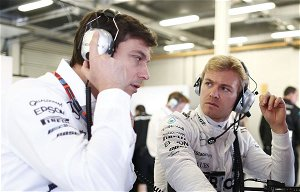 Nico Rosberg dispels Wolff myth over Mercedes exit