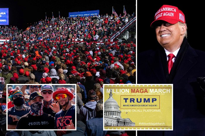 McEnany predicts 'quite large' turnout at 'Million MAGA March' in DC