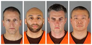 Ex-cops charged in Floyd death want separation from Chauvin