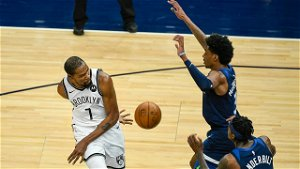 Durant, Nets beat Timberwolves 127-97 in rescheduled game