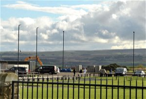 Controversial lights at cemetery near Keighley Tarn are approved