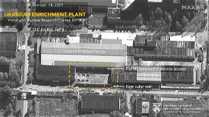 Satellite images reveal North Korea expanding facility used to produce weapons-grade uranium
