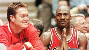 Jordan opens up on time with Luc Longley