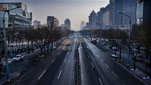 Lockdown in force across China