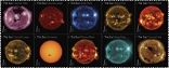 Check out these new Sun Science stamps!