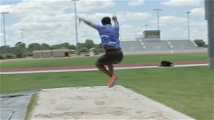 Houston Baptist University triple-jumper to compete at US Olympic trials after devastating injury