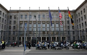 German prosecutors search ministries over money laundering probe