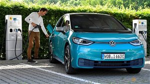 German VW, EV delivery in the first half nearly tripled