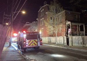 Four-alarm fire in Manchester displaces 8 residents