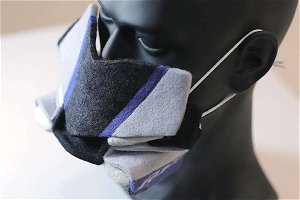 This DIY Face Mask Resembles Yamaha YZF-R1M SportsBike and Will Make You a Head-Turner- Watch Video
