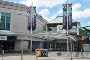 When is The Quadrant Shopping Centre and Morfa Shopping Park reopening?